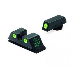Meprolight night sights (Glock sub-compact)