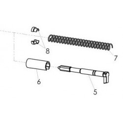 05, 06, 07, 08 Firing Pin Assembly (Gen 3 / 4)
