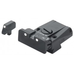 LPA Adjustable Sight Set, White Dot (Pre B)