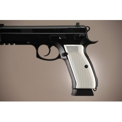 Hogue brushed aluminium grips (CZ 75)