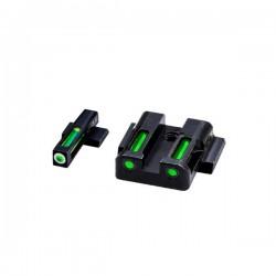 H3 Tritium/Litepipe sight set (M&P)
