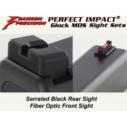 Dawson Fiber / Black Carry Set (Gen4 MOS)