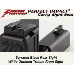 Dawson Black / Tritium Carry Set (Gen 3 / 4)