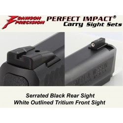 Dawson Black / Tritium Carry Set (M&P)