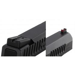 Dawson Black / Fiber Carry Set (P-10)