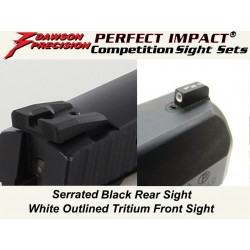 Dawson Black / Tritium Carry Set (P-07 / P-09)