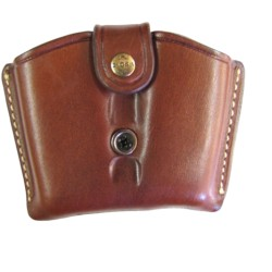 Ross Leather Mag Pouch