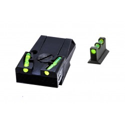 Hi Viz Adjustable Sight Set(Glock)